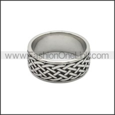 Stainless Steel Ring r008804SA