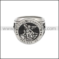 Stainless Steel Ring r008799SH