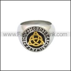 Stainless Steel Ring r008835SAG