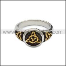 Stainless Steel Ring r008807SHG