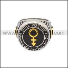 Stainless Steel Ring r008794SHG