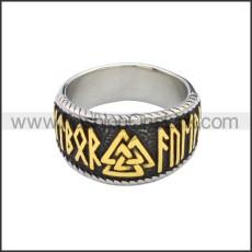 Stainless Steel Ring r008797SHG