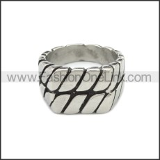 Stainless Steel Ring r008836SA