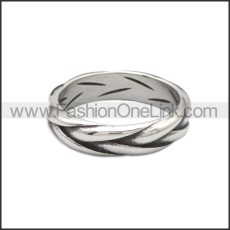 Stainless Steel Ring r008845SA