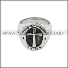 Stainless Steel Ring r008809SA