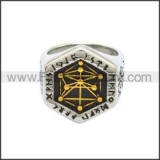 Stainless Steel Ring r008796SHG