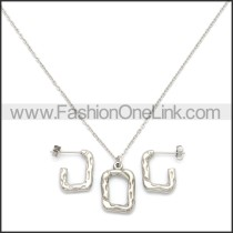 Stainless Steel Jewelry Sets s002964S