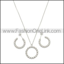 Stainless Steel Jewelry Sets s002968S
