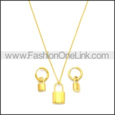 Stainless Steel Jewelry Sets s002969G