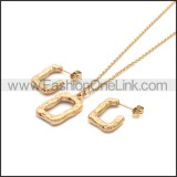 Stainless Steel Jewelry Sets s002964R