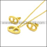 Stainless Steel Jewelry Sets s002966G