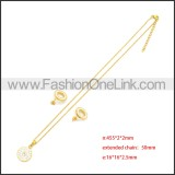 Stainless Steel Jewelry Sets s002970G
