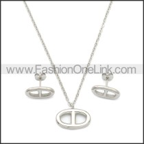 Stainless Steel Jewelry Sets s002966S