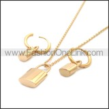 Stainless Steel Jewelry Sets s002969R