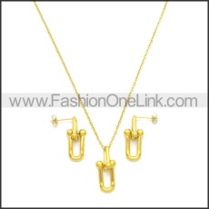 Stainless Steel Jewelry Sets s002967G