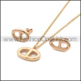 Stainless Steel Jewelry Sets s002966R