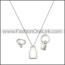 Stainless Steel Jewelry Sets s002969S