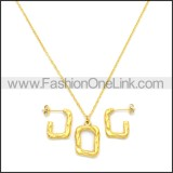 Stainless Steel Jewelry Sets s002964G
