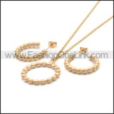 Stainless Steel Jewelry Sets s002968R