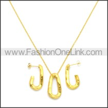Stainless Steel Jewelry Sets s002965G