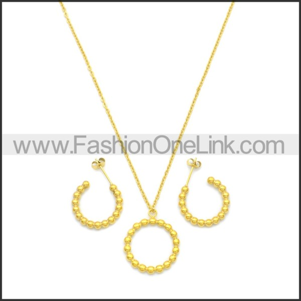 Stainless Steel Jewelry Sets s002968G