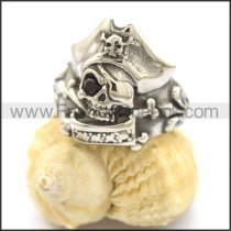 Unique Stainless Steel Skull Ring r002119