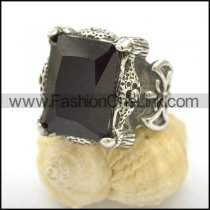 Vintage Stone Stainless Steel Ring  r002497