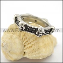 Vintage Stainless Steel Ring r001733