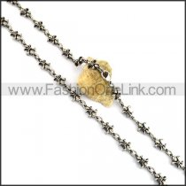 Casting Flower Necklace n001081