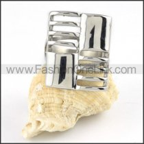 Stainless Steel Hollowed-out Design Ring r000164