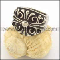 Exquisite Stainless Steel Ring r001447