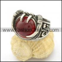 Vintage Stone Stainless Steel Ring  r002494