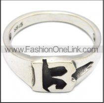 sterling silver 13 ring for ladies riders r006087