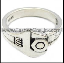 925 sterling silver spanner ring for women bikers r006081