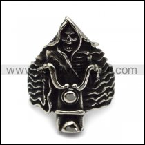 Cool Skull Ride a Motorcycle Ring for Bikers r005139