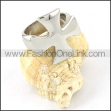Stainless Steel Smooth Surface Cross Ring r000309