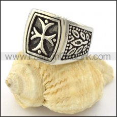 Stainless Steel Special Egypt Casting Ring r001038