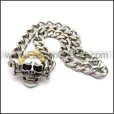 Exquisite Skull Necklace n001029