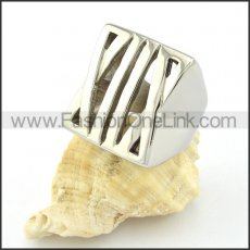 Stainless Steel Unique Design Ring r000609