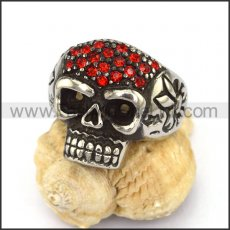 Exquisite Stainless Steel Skull Ring r002891