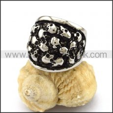 Exquisite Stainless Steel Skull Ring r002892