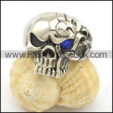 Unique Stainless Steel Skull Ring r002505