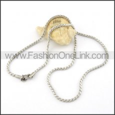 Graceful Stainless Steel  Small Chain    n000410
