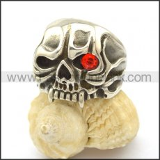 Unique Skull Stainless Steel Ring  r002466