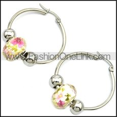 Stainless Steel Earring e001649