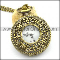 antique ear of wheat pocket watch for unisex pw000407