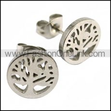 Stainless Steel Earring e001996