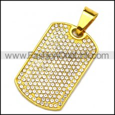 Stainless Steel Pendant p010214