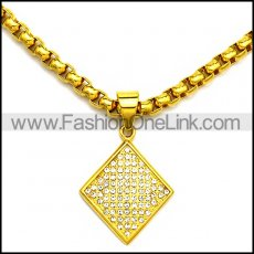 Stainless Steel Necklace n002940