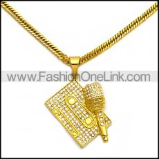 Stainless Steel Necklace n002970